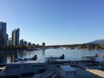 Coal Harbour and the Seaplanes