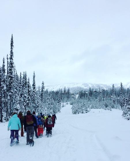 Snowshoe Sunday Funday